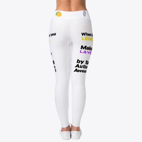 Lemons &Amp; Lavender Standard T-Shirt Back