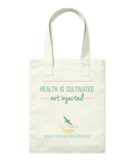 Your Health Freedom Fundraising Natural T-Shirt Front