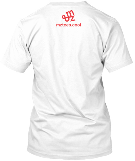 Mz Tee Cutout White T-Shirt Back