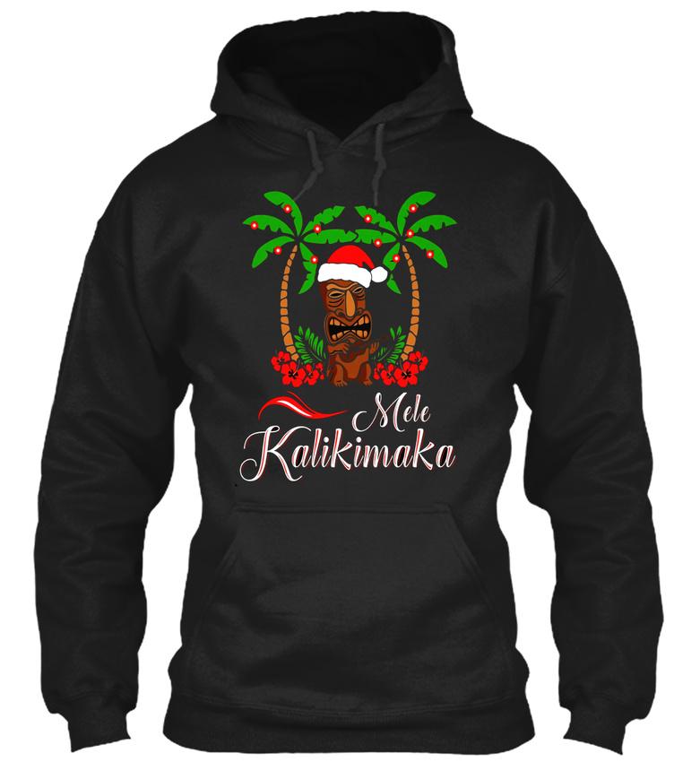 Fun Tiki Mele Kalikimaka Merry Christmas Hawaii Ukulele Gildan ...