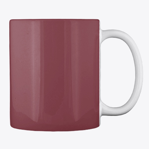 Gardening Slogan Mug, Cup, China,Drink Maroon T-Shirt Back