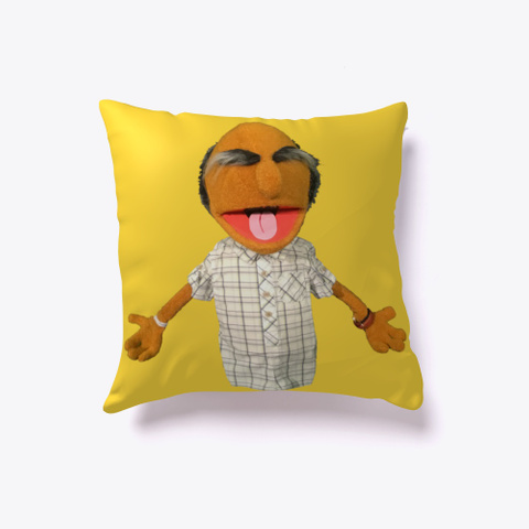Grandpa Uppet Pillow Yellow T-Shirt Front