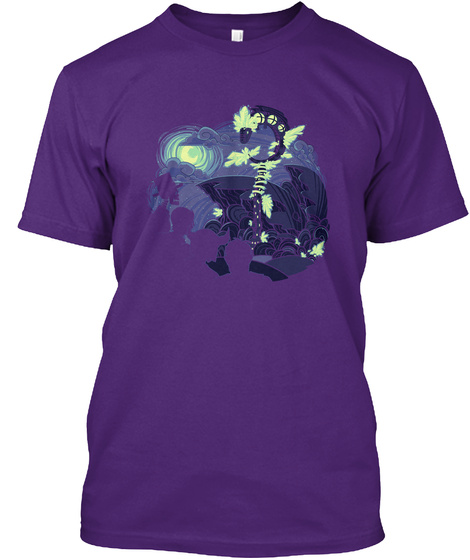 U Realms   Ultimate Wizardry [Official] Purple T-Shirt Front