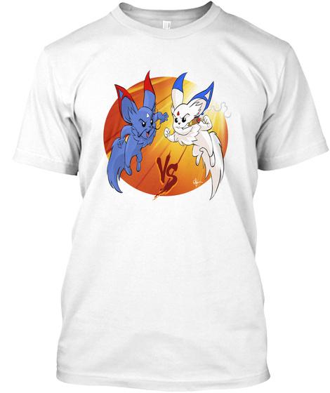 Tsumi Vs Imust! White T-Shirt Front