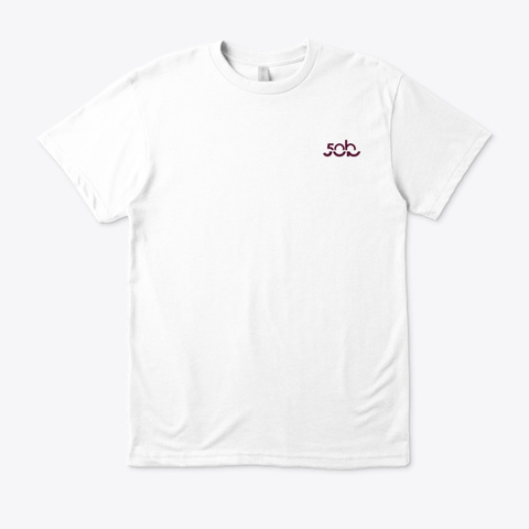 Turtle Hand Signal · Eco T Shirt White T-Shirt Front