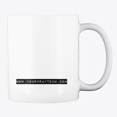 Radiation Coffee Mug & Decal White T-Shirt Back