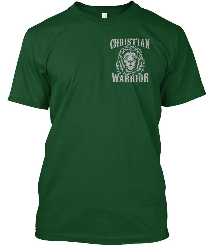 Brand-New-Christian-Warrior-Christain-I-Am-But-Make-Hanes-Tagless-Tee-T-Shirt thumbnail 8