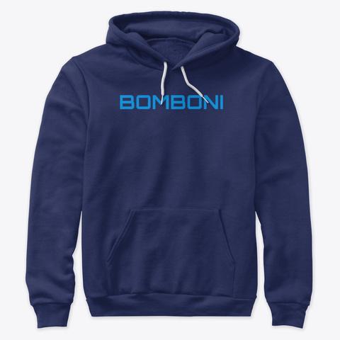 Bomboni Navy T-Shirt Front