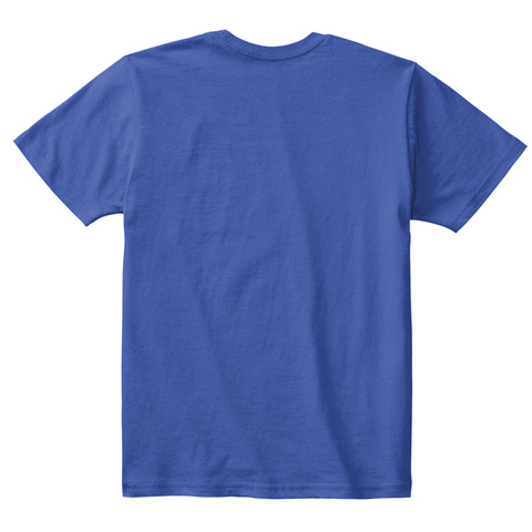 Abersoch Tee Shirt   Childs Blue Tee Shi Royal Blue T-Shirt Back