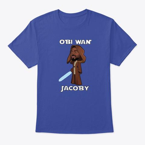 Juke Obi Wan Jacoby Edition Deep Royal T-Shirt Front