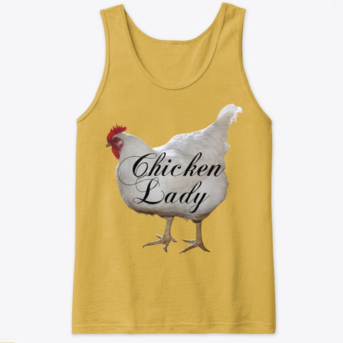 Chicken Lady Gold áo T-Shirt Front
