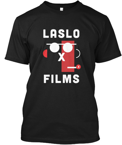 Laslo Films Black T-Shirt Front