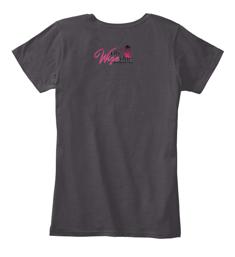 The Malt  Gray Heathered Charcoal  Women's T-Shirt Back