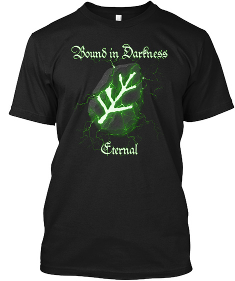 Bound In Darkness Eternal Black T-Shirt Front