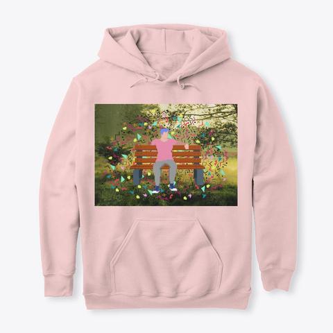 Pixel Photo Hybrid Light Pink T-Shirt Front