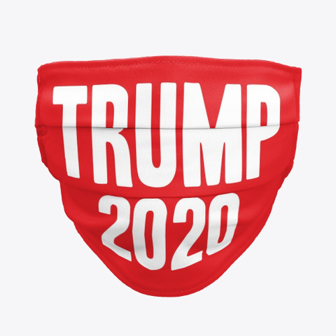 Trump For President 2020 Red T-Shirt Front