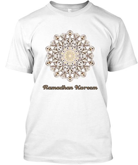 Ramadhan Kareem White T-Shirt Front