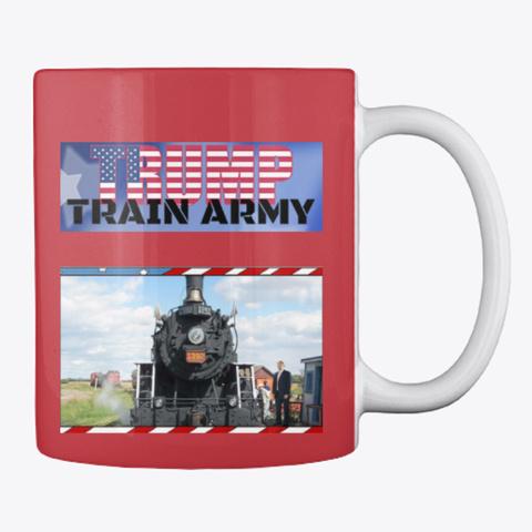 Tta Mug Bright Red Mug Back