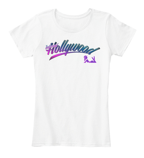 Ih Women's Premium T Shirt White Women's T-Shirt Front