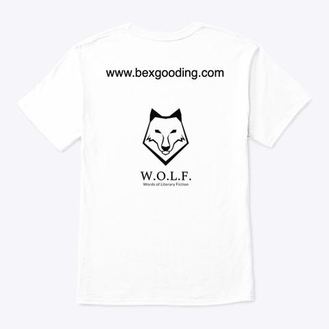 W.O.L.F. T Shirt White T-Shirt Back