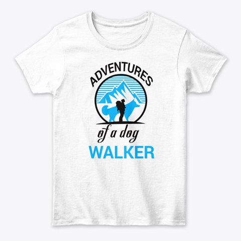 Adventures Of A Dog 2019 White Women's T-Shirt Front