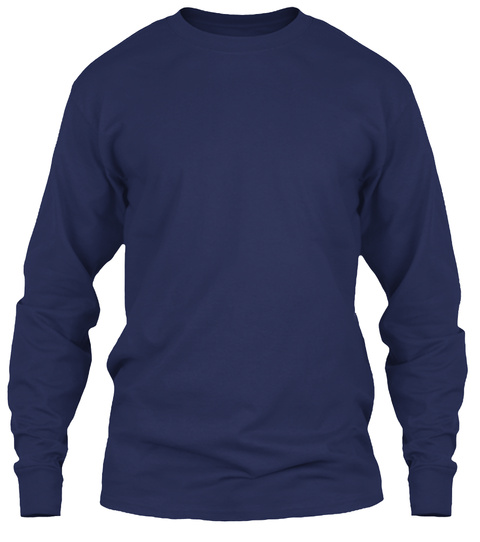 Hiking Lover Navy T-Shirt Front