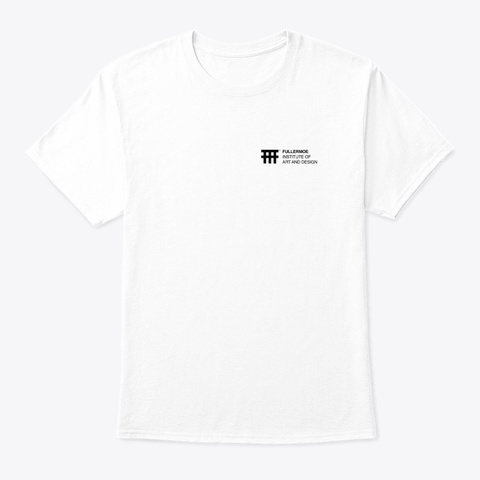 Institute White T-Shirt Front