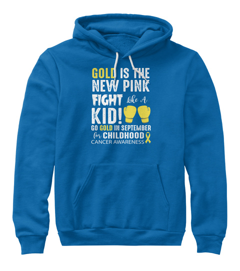 Gold Is The New Pink True Royal T-Shirt Front