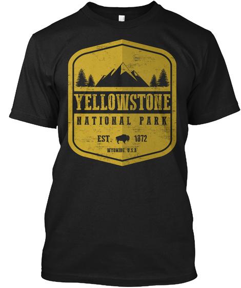 Yellowstone National Park Unisex Tshirt