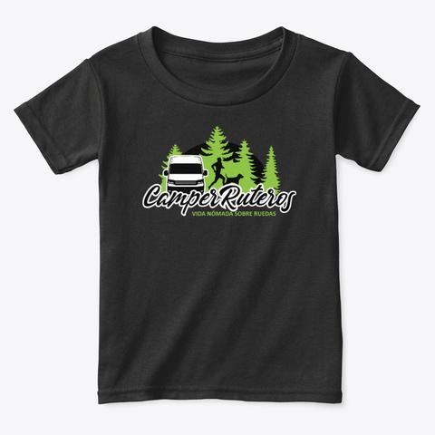 Somos #Camper Ruteros Black T-Shirt Front