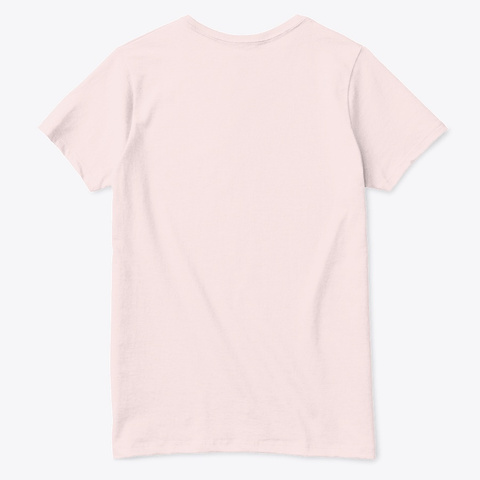 I Can Only B My Self (Type A) Pale Pink  T-Shirt Back