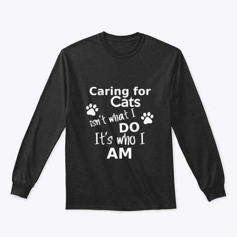 Cat N7vkq Black T-Shirt Front