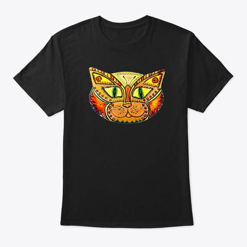Calamita Catz Maxwell Butterfly Tiger Black T-Shirt Front