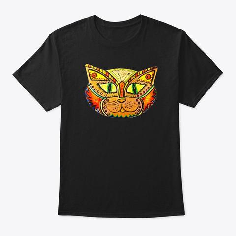 Calamita Catz Maxwell Butterfly Tiger Black T-Shirt Front