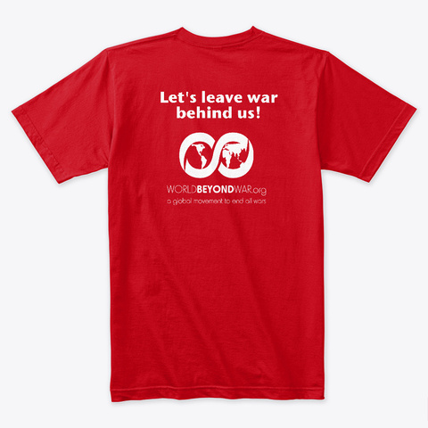 Patriotism Is Too Small For My Family Red T-Shirt Back