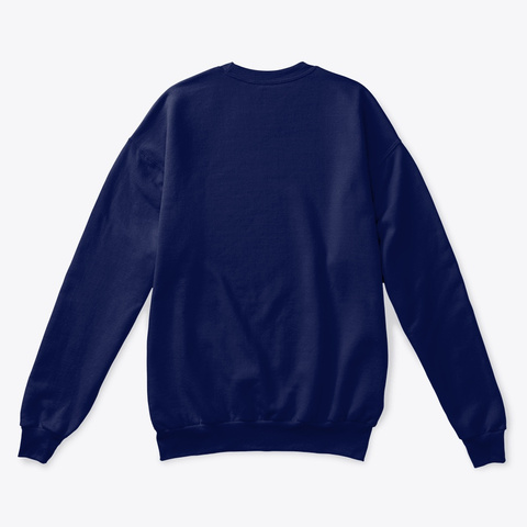 My Funky Fresh Christmas Sweater By Tmc Navy  Sweatshirt Back