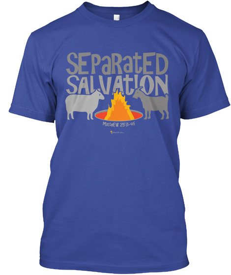 Separated Salvation Deep Royal T-Shirt Front