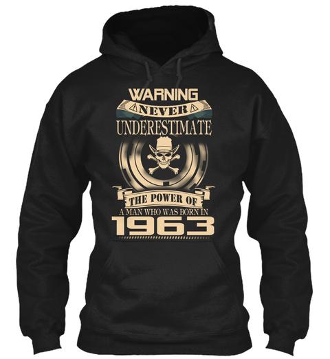1963 Black T-Shirt Front