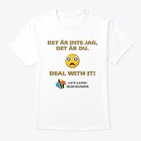 Autastic Merchandise (Inte Jag) White T-Shirt Front
