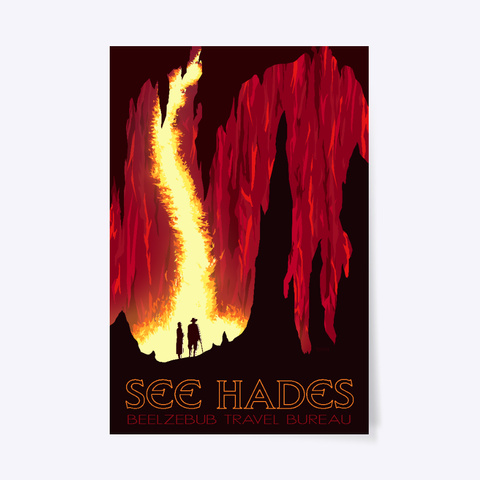 See Hades White áo T-Shirt Front