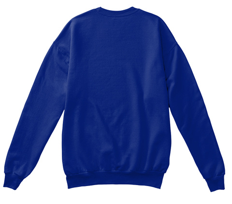 Make Christmas Great Again Deep Royal  Sweatshirt Back