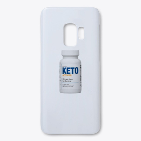 Keto Actives Opiniones White T-Shirt Front