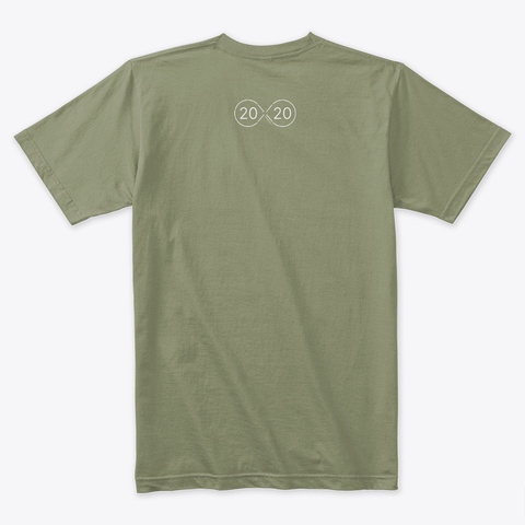 Kardashev 2 / From The 2020 Cx.Report Light Olive T-Shirt Back