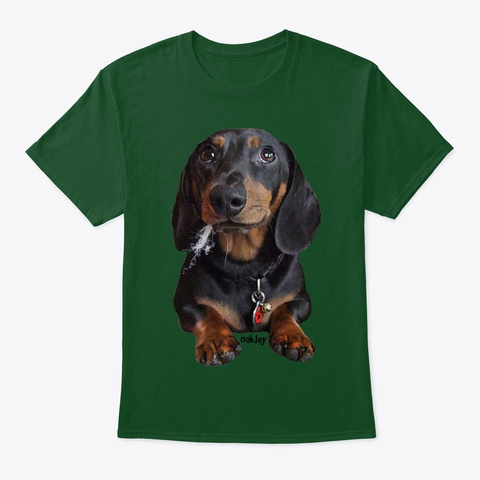 Innocent Oakley! Deep Forest T-Shirt Front