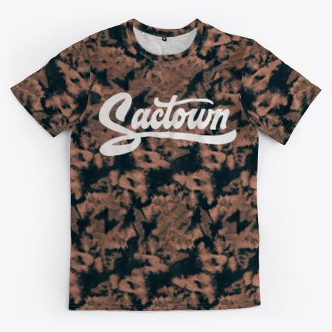 Sactown   Crunchy Wash Standard T-Shirt Front