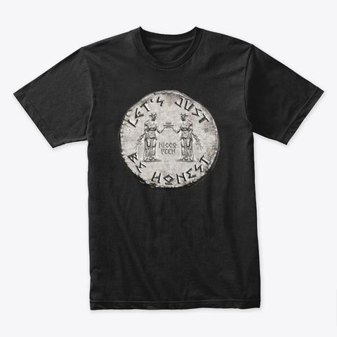 Let's Just Be Honest  Black T-Shirt Front