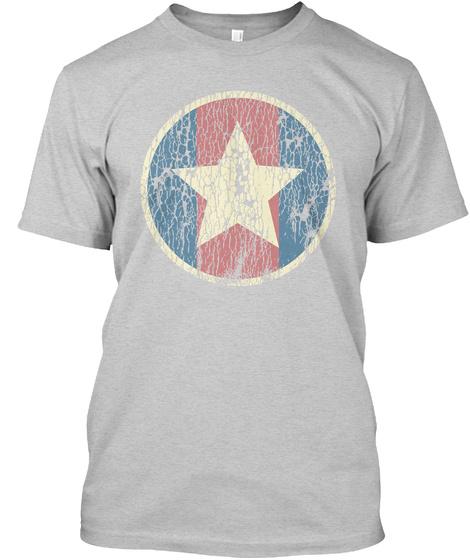 Gone, But Not Forgotten... Light Steel T-Shirt Front