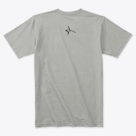 Donald Wayne King Collaboration Light Grey T-Shirt Back