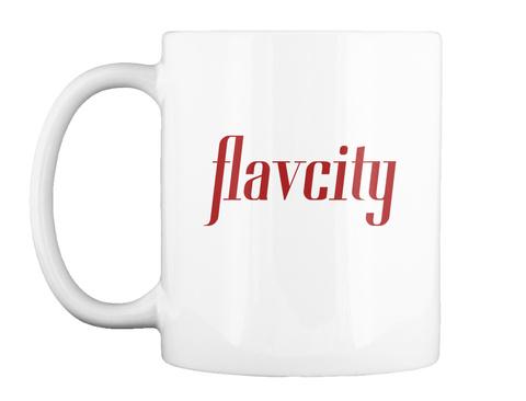 Flavcity White Mug Front