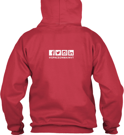 Som Kc Revitalize Hoodie Cardinal Red T-Shirt Back